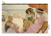 The Beach Carry-all Pouch by Alfred Victor Fournier
