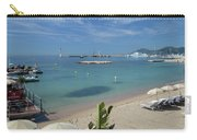 The Beach At Cannes Carry-all Pouch
