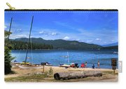The Beach At Hill's Resort Carry-all Pouch