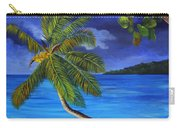 The Beach At Night Carry-all Pouch
