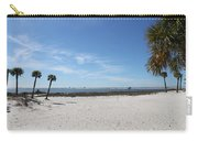 The Beach At The Isle Dauphine Carry-all Pouch