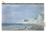 The Beach At Varangeville Carry-all Pouch by Renoir