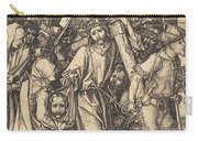 The Bearing Of The Cross With Saint Veronica Carry-all Pouch
