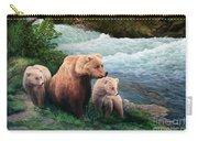 The Bears Of Katmai Carry-all Pouch