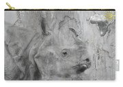 The Beautiful Rhino Carry-all Pouch