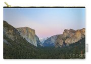 The Beautiful Tunnel View Of Yosemite Carry-all Pouch