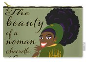 The Beauty Of A Woman Carry-all Pouch
