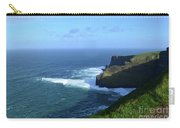 The Beauty Of Ireland's Cliff's Of Moher And Galway Bay  Carry-all Pouch