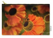The Bee And The Helenium Carry-all Pouch