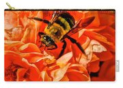 The Bee And The Flower Carry-all Pouch