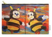 The Bees, Joey And Lilly Carry-all Pouch