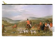 The Berkeley Hunt Carry-all Pouch by Francis Calcraft Turner