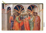 The Betrayal Of Judas 1311 Carry-all Pouch