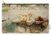 The Betrothed Carry-all Pouch by John William Godward