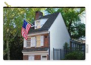 The Betsy Ross House Philadelphia Carry-all Pouch by Bill Cannon