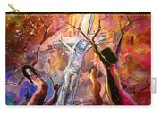 The Bible Crucifixion Carry-all Pouch