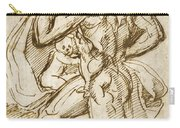 The Birth Of Bacchus From Jupiter's Thigh Carry-all Pouch