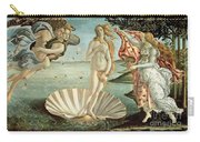 The Birth Of Venus Carry-all Pouch by Sandro Botticelli
