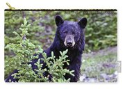 The Black Bear Stare Carry-all Pouch