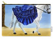 The Blue And The White - Princess Starliyah Riding Candis Carry-all Pouch