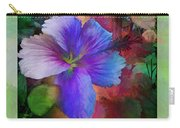 The Blue China Rose  Carry-all Pouch