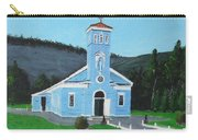 The Blue Church Carry-all Pouch