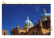 The Blue Domes Of Cuenca, Ecuador Carry-all Pouch
