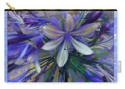 The Blue Flowers Of Melanie  Carry-all Pouch