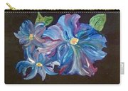 The Blue Flowers Carry-all Pouch