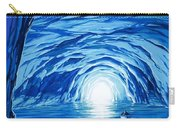The Blue Grotto In Capri By Mcbride Angus  Carry-all Pouch by Angus McBride