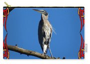 The Blue Heron Claimed He Was Framed Carry-all Pouch