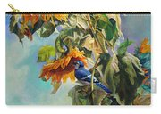 The Blue Jay Who Came To Breakfast Carry-all Pouch