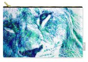 The Blue Lion Carry-all Pouch