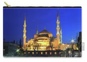 The Blue Mosque At Night Istanbul Turkey Carry-all Pouch