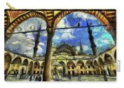 The Blue Mosque Istanbul Art Carry-all Pouch