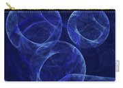 The Blue Wave Abstract Carry-all Pouch
