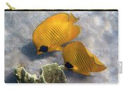 The Bluecheeked Butterflyfish Carry-all Pouch