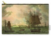 The Bombing Of Cadiz By The French  Carry-all Pouch by Louis Philippe Crepin