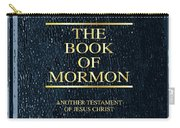 The Book Of Mormon Carry-all Pouch
