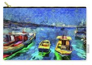 The Bosphorus Istanbul Art Carry-all Pouch