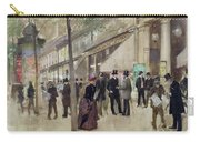The Boulevard Montmartre And The Theatre Des Varietes Carry-all Pouch