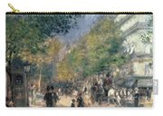 The Boulevards  Carry-all Pouch by Pierre Auguste Renoir