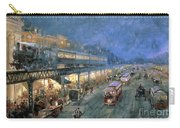 The Bowery At Night Carry-all Pouch