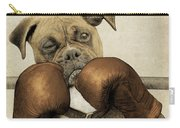The Boxer Carry-all Pouch by Eric Fan