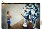The Boy And The Lion 10 Carry-all Pouch