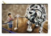 The Boy And The Lion 13 Carry-all Pouch