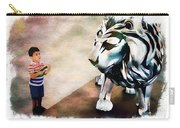 The Boy And The Lion 9 Carry-all Pouch