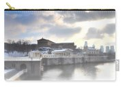 The Breaking Sun Over Philadelphia Carry-all Pouch