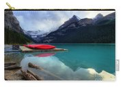 The Breathtakingly Beautiful Lake Louise Iv Carry-all Pouch