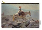 The Bridal Path Carry-all Pouch by Winslow Homer
